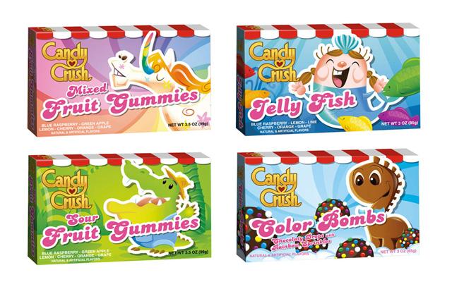 Candy Crush Eingewickelte Bonbons
